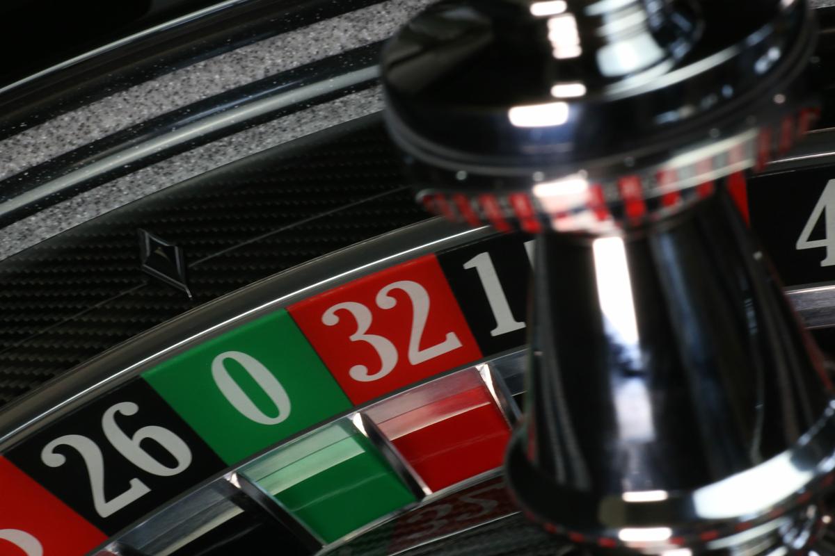 Carbon Roulette Wheel Bohm